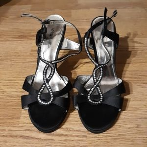 Strappy dress shoes